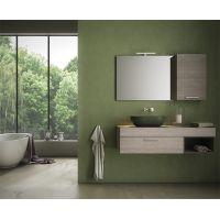 Globo T-Egde umywalka 54x36 cm nablatowa biała B6O54.BI