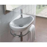 Globo Grace umywalka 50x30 cm ścienna biała MI012.BI