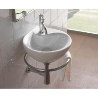 Globo Grace umywalka 35 cm ścienna biała MI013.BI