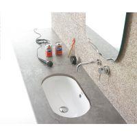 Globo Forty3 umywalka podblatowa 60x37 cm owalna biała SC043.BI