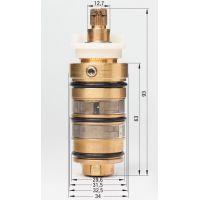 Deante Multi-System głowica termostatyczna XNCC7GUP9
