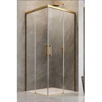 Radaway Idea Gold KDD kabina prysznicowa 90 cm część lewa profile złote/szkło przezroczyste 387060-09-01L