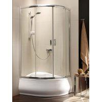 Radaway Premium Plus E 1700 kabina prysznicowa 100x80 cm półokrągła asymetryczna 30481-01-01N