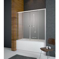 Radaway Vesta DWD parawan nawannowy 140 cm z drzwiami przesuwnymi 203140-01