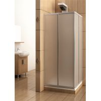KFA Armatura Variabel kabina prysznicowa 90 cm kwadratowa szyba polistyrenowa 101-26910P