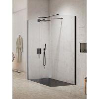 New Trendy New Modus Black kabina prysznicowa Walk-In 120x90 cm szkło przezroczyste EXK-1291