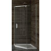 New Trendy New Komfort kabina prysznicowa 90x90 cm pięciokątna szkło przezroczyste K-0294