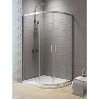 New Trendy New Varia kabina prysznicowa 100x80 asymetryczna szkło przezroczyste K-0507