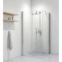 Oltens Trana kabina prysznicowa 100x90 cm prostokątna drzwi ze ścianką 20201100