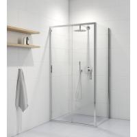 Oltens Fulla kabina prysznicowa 100x80 cm prostokątna drzwi ze ścianką 20202100
