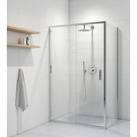 Oltens Fulla kabina prysznicowa 120x80 cm prostokątna drzwi ze ścianką 20203100