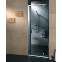 Omnires S80 drzwi prysznicowe szklane, uchylne 80 cm chrom/ transparentne S-80DCRTR