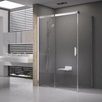 Ravak Matrix MSDPS-110/80 L kabina prysznicowa 110x80 cm prostokątna lewa biel/transparent 0WLD4100Z1