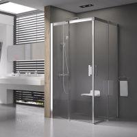 Ravak Matrix MSRV4-90/90 kabina prysznicowa 90 cm kwadratowa polerowane aluminium/transparent 1WV77C00Z1
