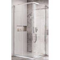 Ravak Blix Slim BLSRV2 kabina prysznicowa 90 cm kwadratowa aluminium/transparent X1LM70C00Z1
