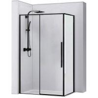 Rea Solar Black kabina prysznicowa 120x90 cm szkło przezroczyste REA-K6311