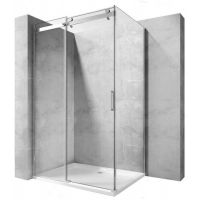 Rea Whistler kabina prysznicowa 120x90 cm prostokątna szkło przezroczyste REA-K8971