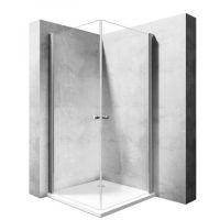 Rea Easy Space N2 kabina prysznicowa 90 cm kwadratowa szkło przezroczyste REA-K5412