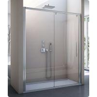 SanSwiss Pur Light S drzwi prysznicowe 160 cm lewe srebrny połysk/szkło przezroczyste PLS2G1605007