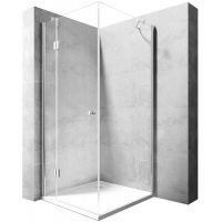 Rea Madox kabina prysznicowa 90 cm kwadratowa szkło przezroczyste REA-K4527