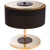 Amplex Elia lampa biurkowa 1x40W czarna/złota 0372