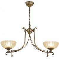 Amplex Granada lampa wisząca 2x60W patyna połysk 239