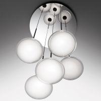 Artemide Orsa Cluster 5 lampa wisząca 37W przejrzysty/chrom 0355030A