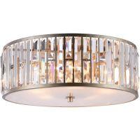 CosmoLight Moscow plafon 5x60W szampan/kryształ C05127CP