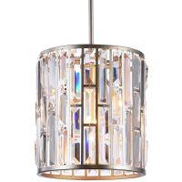CosmoLight Moscow lampa wisząca 1x60W szampan/kryształ P01110CP