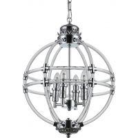 CosmoLight Amsterdam lampa wisząca 4x40W chrom P04391CH