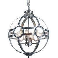 CosmoLight Amsterdam lampa wisząca 4x40W chrom P04687CH