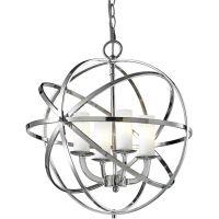 CosmoLight Orlando lampa wisząca 4x40W chrom P04820CH