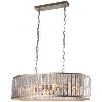 CosmoLight Moscow lampa wisząca 6x60W szampan/kryształ P06223CP