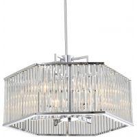 CosmoLight Glasgow lampa wisząca 6x40W chrom P06384CH