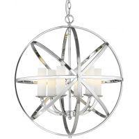 CosmoLight Orlando lampa wisząca 6x40W chrom P06441CH