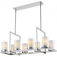 CosmoLight Miami lampa wisząca 8x40W chrom P08018CH