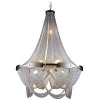 CosmoLight Roma lampa wisząca 8x40W/1x35W chrom P09109CR
