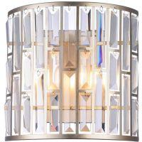 CosmoLight Moscow kinkiet 2x60W szampan/kryształ W02103CP