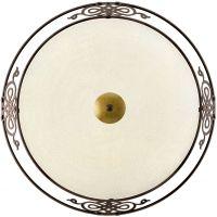 Eglo Mestre lampa podsufitowa 3x60W antyczny-brązowy/złoto/beżowy 86713