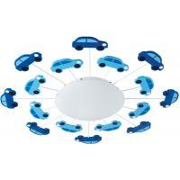 Eglo Viki lampa podsufitowa 1x60W niebieski/biały 92146