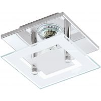 Eglo Almana lampa podsufitowa 1x3W chrom/biały/przezroczysty 94224