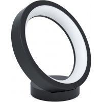 Eglo Marghera-C lampa stołowa 1x16W czarny/biały 99029