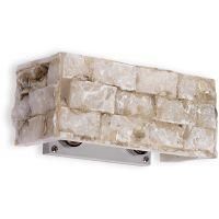 Ideal Lux Carrara kinkiet 2x40W alabaster 018775