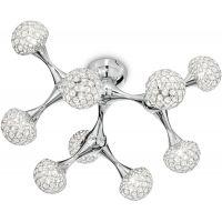 Ideal Lux Nodi Crystal lampa wisząca 9x40W chrom 093505