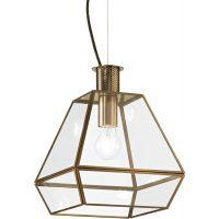 Ideal Lux Potty lampa wisząca 1x60W złota 152776
