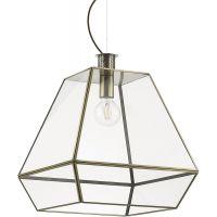 Ideal Lux Potty lampa wisząca 1x60W złota 160085