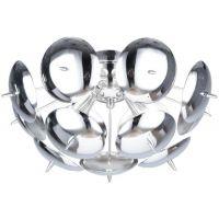 Lampex Muskat P4 lampa wisząca 4x8W chrom/srebrny 731/P4