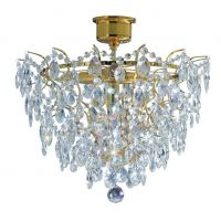 Markslöjd Rosendal lampa podsufitowa 4x40W złoty/mc 100510