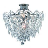 Markslöjd Rosendal lampa podsufitowa 4x40W chrom/mc 100511