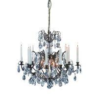 Markslöjd Kronovall lampa wisząca 6x40W antyczny/brylant 100558